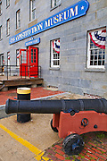 USS Constitution Museum on the Freedom Trail, Charlestown Navy Yard, Boston, Massachusetts