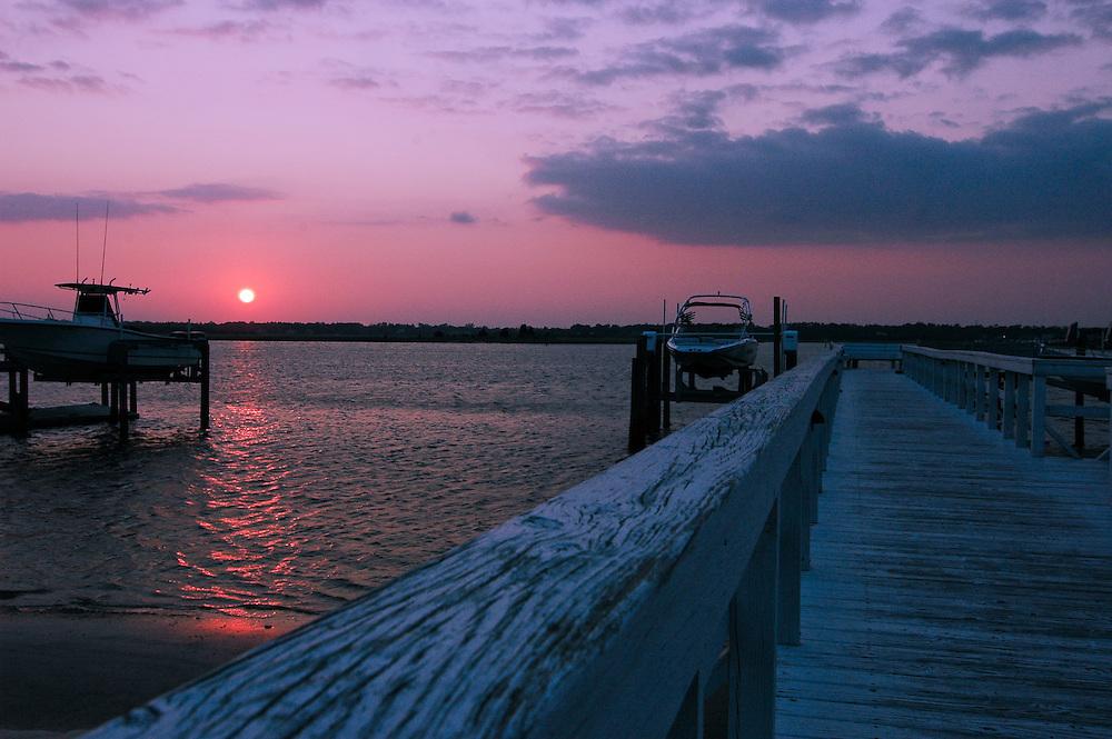 Wrightsville Beach Dock Sunset
