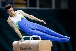 Jure Pavlica of Slovenia at Pommel Horse during Qualifications of Artistic Gymnastics FIG World Challenge Koper 2018, on May 31, 2017 in Arena Bonifika, Koper, Slovenia. Photo by Matic Klansek Velej/ Sportida