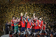 Spain celebrate World Cup victory