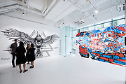 Hong Kong Soho Street Art Community Project ' Hidden Street ', at Pearl Lam Galleries on Aug 14, 2015, in Hong Kong, China. Photo by Moses Ng / studioEAST