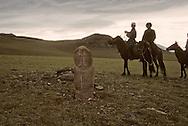 Mongolia. Jour d'election dans le Kolhoze de gatchurt, les gens viennent à cheval de leur village , distant parfois de 60 kilomètres  Oulan Bator  Mongolie   / Election day  Oulan Bator       / P0002309  / L0006018