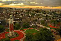 Plaza San Martin, Retiro, Buenos Aires @ Sunset