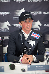 Maher Ben (GBR) <br />  CSI5* Longines Global Champions Tour London 2013 <br /> © Hippo Foto - Jon Stroud