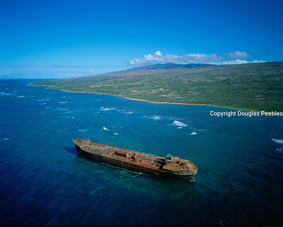 Shipwreck Beach, Lanai, Hawaii, USA<br />