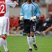 NLD/Amsterdam/20060928 - Voetbal, Uefa Cup voorronde 2006, Ajax - IK Start, Kenneth Vermeer