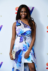 Oti Mabuse attending the TRIC Awards 2019 50th Birthday Celebration held at the Grosvenor House Hotel, London.