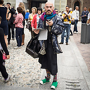 Il Quinto giorno della Settimana della Moda a Milano: aspettando la sfilata di Byblos<br /> <br /> The fifth day of Milan Fashion Week: waiting the Byblos fashion show
