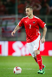 05.03.2014, Woerthersee Arena, Klagenfurt, AUT, Testspiel, Oesterreich vs Uruguay, im Bild Marko Arnautovic (Oesterreich) // during the International Friendly between Austria and Uruguay at the Woerthersee Arena, Klagenfurt, Austria on 2013/03/05. EXPA Pictures © 2014, PhotoCredit: EXPA/ JFK
