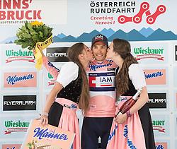 11.07.2015, Innsbruck, AUT, Österreich Radrundfahrt, 7. Etappe, von Kitzbühel nach Innsbruck, im Bild Stefan Denifl (AUT, Bester Österreicher) // Best Austrian rider Stefan Denifl of Austria during the Tour of Austria, 7th Stage, from Kitzbühl to Innsbruck, Innsbruck, Austria on 2015/07/11. EXPA Pictures © 2015, PhotoCredit: EXPA/ Reinhard Eisenbauer