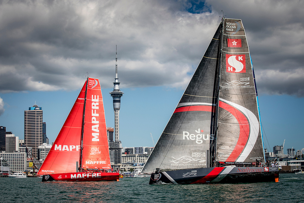 © Maria Muina I MAPFRE. Regata In Port de Auckland. / Auckland In Port Race.