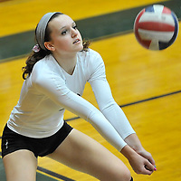 9.18.2012 Vermilion at Elyria Catholic Varsity Volleyball