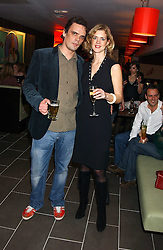 MARK VON WESTENHOLZ and his wife MILLIE at the opening party for a new bowling alley All Star Lanes, at Victoria House, Bloomsbury Place, London on 19th January 2006.<br /><br />NON EXCLUSIVE - WORLD RIGHTS