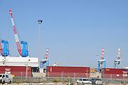 Israel, Haifa, Haifa port