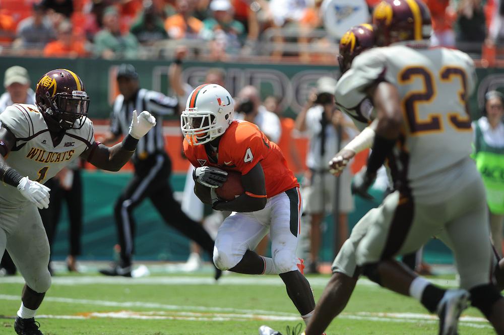 2012 Miami Hurricanes Football vs Bethune-Cookman