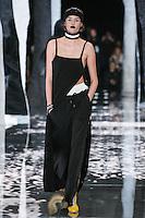 Vanessa Moody walks the runway wearing PUMA x FENTY by Rihanna Fall 2016 during New York Fashion Week on February 12, 2016