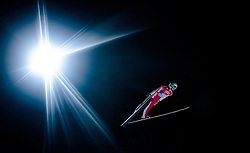 05.01.2016, Paul Ausserleitner Schanze, Bischofshofen, AUT, FIS Weltcup Ski Sprung, Vierschanzentournee, Qualifikation, im Bild Tom Hilde (NOR) // Tom Hilde of Norway during his Qualification Jump for the Four Hills Tournament of FIS Ski Jumping World Cup at the Paul Ausserleitner Schanze, Bischofshofen, Austria on 2016/01/05. EXPA Pictures © 2016, PhotoCredit: EXPA/ JFK