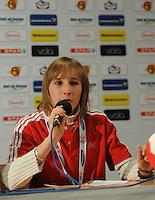 Handball EM Herren 2010 Hauptrunde Deutschland - Frankreich 24.01.2010 Pressekonferenz; Feature;