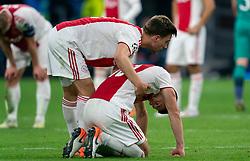 08-05-2019 NED: Semi Final Champions League AFC Ajax - Tottenham Hotspur, Amsterdam<br /> After a dramatic ending, Ajax has not been able to reach the final of the Champions League. In the final second Tottenham Hotspur scored 3-2 / Dusan Tadic #10 of Ajax, Joel Veltman #3 of Ajax