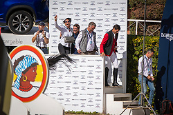 Team Belgium, Weinberg Peter, GER, Chef d'Equipe, Philippaerts Nicola, BEL<br /> Longines FEI Jumping Nations Cup™ Final<br /> Barcelona 20128<br /> © Hippo Foto - Dirk Caremans<br /> 07/10/2018