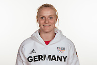 Luise Malzahn poses at a photocall during the preparations for the Olympic Games in Rio at the Emmich Cambrai Barracks in Hanover, Germany, taken on 12/07/16 | usage worldwide