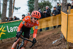 VOS Marianne (NED) during Women Elite race, 2019 UCI Cyclo-cross World Cup Heusden-Zolder, Belgium, 26 December 2019.  <br /> <br /> Photo by Pim Nijland / PelotonPhotos.com <br /> <br /> All photos usage must carry mandatory copyright credit (Peloton Photos | Pim Nijland)
