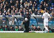 Paul Heckingbottom Head Coach of Leeds United during the EFL Sky Bet Championship match between Leeds United and Bolton Wanderers at Elland Road, Leeds, England on 30 March 2018. Picture by Paul Thompson.