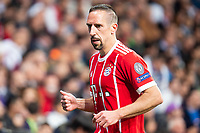 Bayern Munich Franck Ribery during Semi Finals UEFA Champions League match between Real Madrid and Bayern Munich at Santiago Bernabeu Stadium in Madrid, Spain. May 01, 2018. (ALTERPHOTOS/Borja B.Hojas)