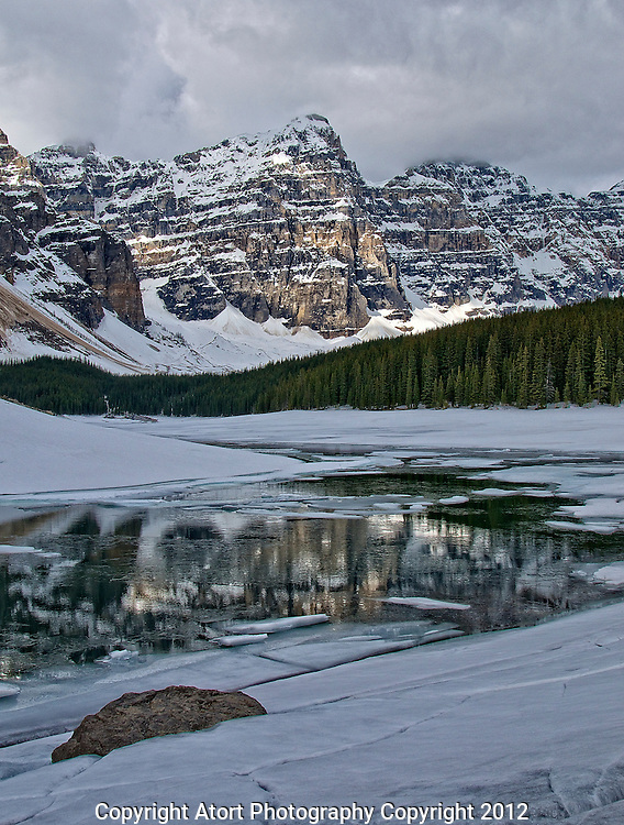 Moraine Lake., British Columbia, canada,