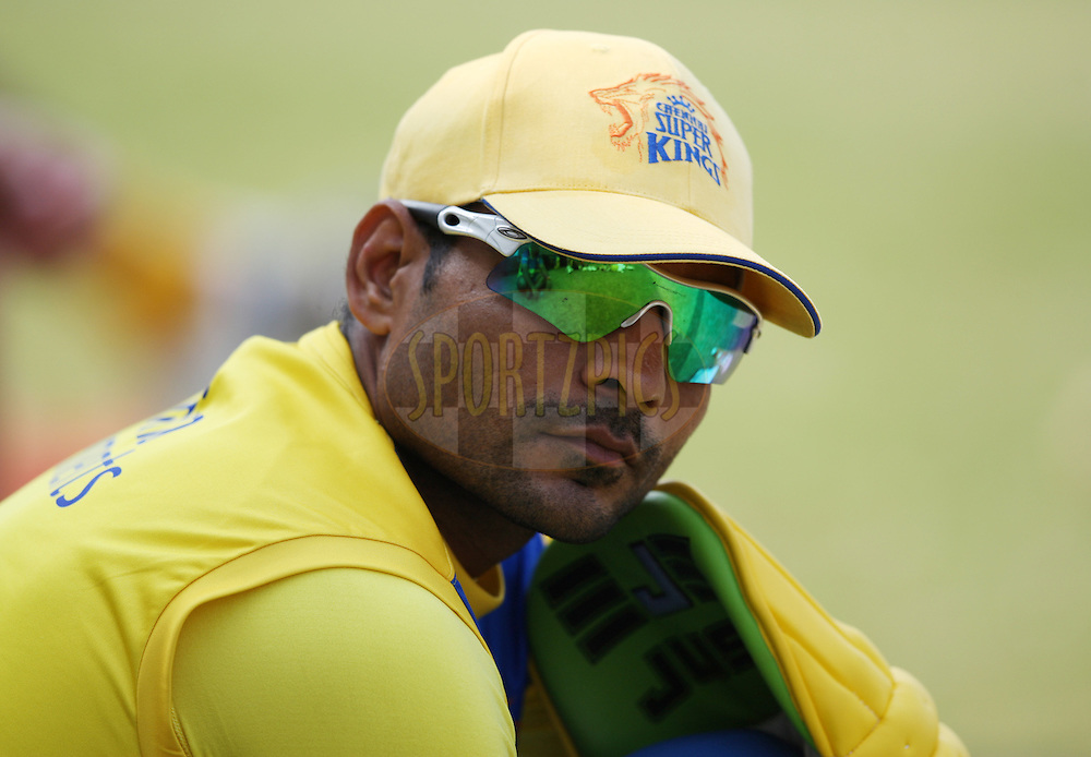 Joginder Sharma  during the Chennai Super Kings training session held at Kingsmead stadium in Durban on the 9th September during the build up to the Champions League T20 tournament being held in South Africa between the 10th and 26th September 2010..Photo by: Steve Haag/SPORTZPICS/CLT20