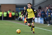Burton Albion midfielder Joe Sbarra (26) during the EFL Sky Bet Championship match between Burton Albion and Nottingham Forest at the Pirelli Stadium, Burton upon Trent, England on 17 February 2018. Picture by Richard Holmes.