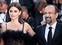 Penelope Cruz and director Asghar Farhadi at the Opening Ceremony and Everybody Knows (Todos Lo Saben) gala screening at the 71st Cannes Film Festival Tuesday 8th May 2018, Cannes, France. Photo credit: Doreen Kennedy