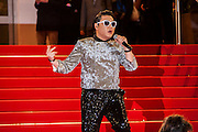Psy sur le tapie rouge des NRJ music awards a Cannes.Psy attends the red carpert for the NRJ Musc Awards.