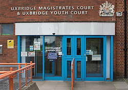 © Licensed to London News Pictures. 17/05/2016. London, UK.  Uxbridge Magistrates Court where Matilde Conejero, the is the estranged wife of chef Marco Pierre White, is charged with two counts of common assault against her sons. She pleaded not guilty to both counts at an earlier hearing . Photo credit: Peter Macdiarmid/LNP