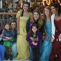 Libby Ezell | BUY at PHOTOS.DJOURNAL.COM<br /> Many families came out to enjoy the chocolate at NEWMS Chocolate Festival and to have their photo taken with Disney Princesses