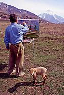 Vladimir Lukin, painter, Kazakhstan
