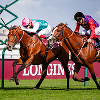 Ice Breeze (V. Cheminaud) wins Qatar Prix Chaudenay Gr. 2 in Chantilly, France 30/09/2017 photo: Zuzanna Lupa