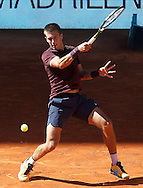 Born Coric during the Madrid Open at Manzanares Park Tennis Centre, Madrid<br /> Picture by EXPA Pictures/Focus Images Ltd 07814482222<br /> 04/05/2016<br /> ***UK &amp; IRELAND ONLY***<br /> EXPA-ESP-160504-0020.jpg