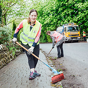 14.04.2017<br /> Europe&rsquo;s biggest ever one-day clean-up took place in Limerick today, Friday 14 April. Over 16,500 people took to the streets of Limerick city and county to take part in the occasion.<br /> Pictured taking part in the Team Limerick Clean-Up in Adare was Bridie Collins.<br /> Pic. Brian Arthur/ Alan Place Photography