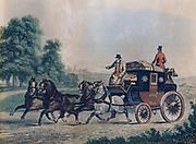 Victorian mail coach