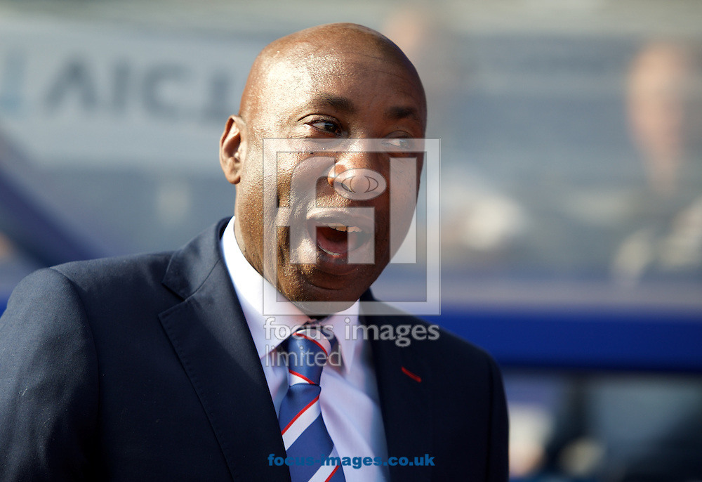 Head coach Chris Ramsey of Queens Park Rangers after the Barclays Premier League match at the Loftus Road Stadium, London<br /> Picture by Alan Stanford/Focus Images Ltd +44 7915 056117<br /> 16/05/2015