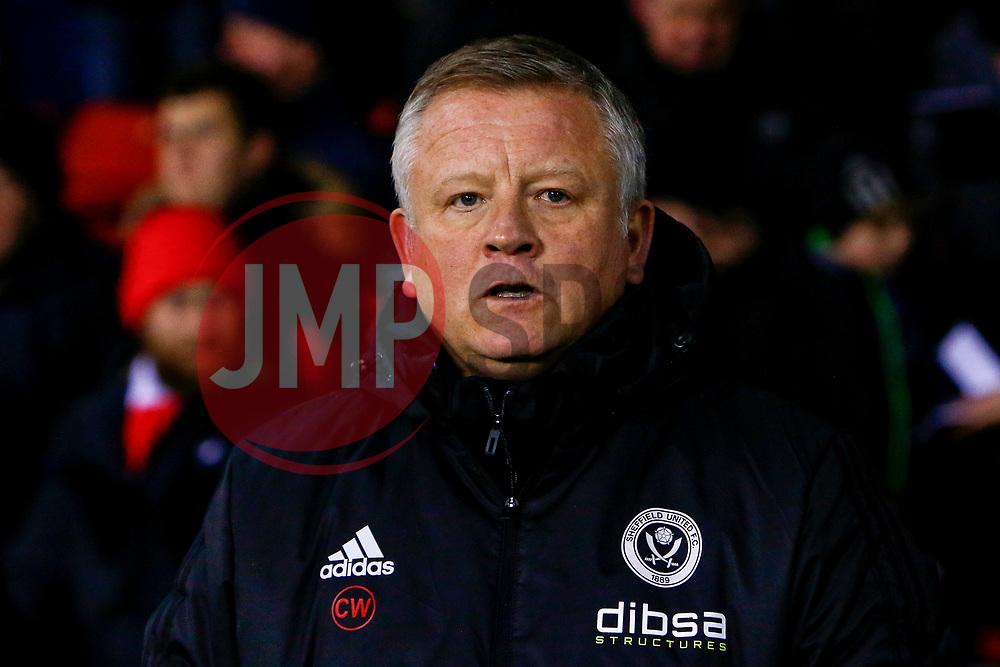 Sheffield United manager Chris Wilder - Mandatory by-line: Ryan Crockett/JMP - 08/12/2017 - FOOTBALL - Bramall Lane - Sheffield, England - Sheffield United v Bristol City - Sky Bet Championship