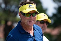 November 15, 2018 - Sydney, NSW, U.S. - SYDNEY, AUSTRALIA - NOVEMBER 15: Robert Allenby (AUS) smiles at Day 1 of The Emirates Australian Open Golf on November 15, 2019, at The Lakes Golf Club in Sydney, Australia. (Photo by Speed Media/Icon Sportswire) (Credit Image: © Speed Media/Icon SMI via ZUMA Press)
