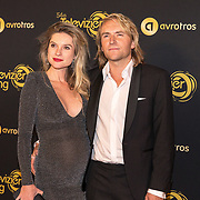 NLD/Amsterdam/20191009 - Uitreiking Gouden Televizier Ring Gala 2019, Lauren Verster en partner Jasper Diepeveen
