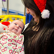 25/12/2014<br /> Special visitors on Christmas Day in Temple Street Children&rsquo;s Hospital<br /> Danny from the Script makes little kid&rsquo;s Christmas with hospital visit.<br /> Pictured here are little Jessica McKeown and mum Lisa from Dublin.<br /> Danny O&rsquo;Donoghue showed a heart of gold when he turned up at Temple Street&rsquo;s Children&rsquo;s Hospital on Christmas Day. The Script&rsquo;s frontman spent a number of hours on Christmas morning visiting children at their bedside along with Santa, the Lord Mayo.&nbsp;Last year, almost 400 children were cared for in Temple Street on Christmas Eve and Christmas Day &amp; a visit from Danny helped bring the magic of Christmas to Temple Street for the children and babies who are too ill or weak to make it home. Danny said of his work with Temple Street &ldquo;It&rsquo;s amazing to be involved with Temple Street, it&rsquo;s the greatest hospital on the planet. It&rsquo;s really humbling to see the children, families, doctors and nurses in Temple Street; they are all true superheroes.&quot;<br /> Pic: Alan Rowlette Photography<br /> -ENDS-