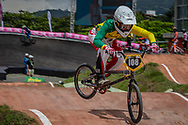 #108 (SAKAKIBARA Saya) AUS at the 2016 UCI BMX World Championships in Medellin, Colombia.