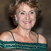 NLD/Amsterdam//20170523 - Koningspaar bij het diner Corps Diplomatique, Prinses Margriet