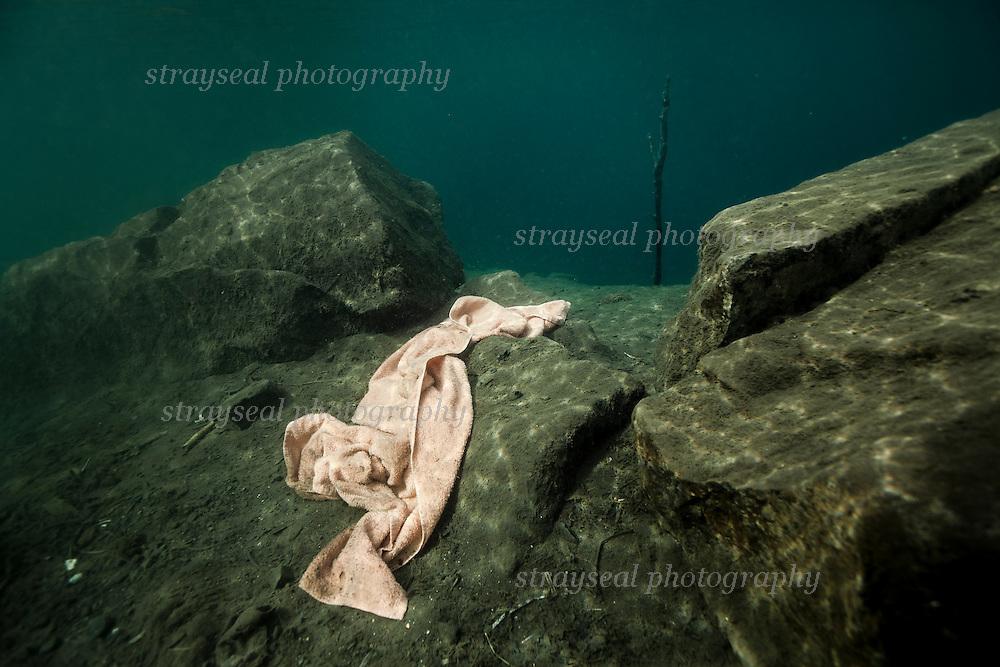 Pink Underwater Towel