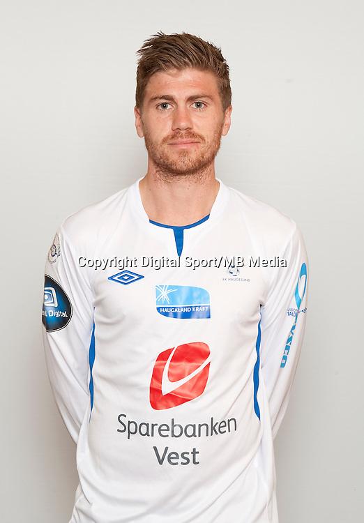 Fotball , Tippeligaen 2013 , Eliteserien , portrett , portretter , Haugesund , Henrik Kilden Toft<br /> Foto: Astrid M. Nordhaug