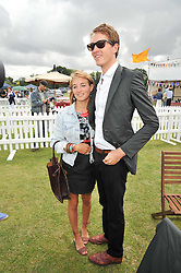OTIS FERRY and FRANCESCA NIMMO at the 2009 Veuve Clicquot Gold Cup Polo final at Cowdray Park Polo Club, Midhurst, West Sussex on 19th July 2009.